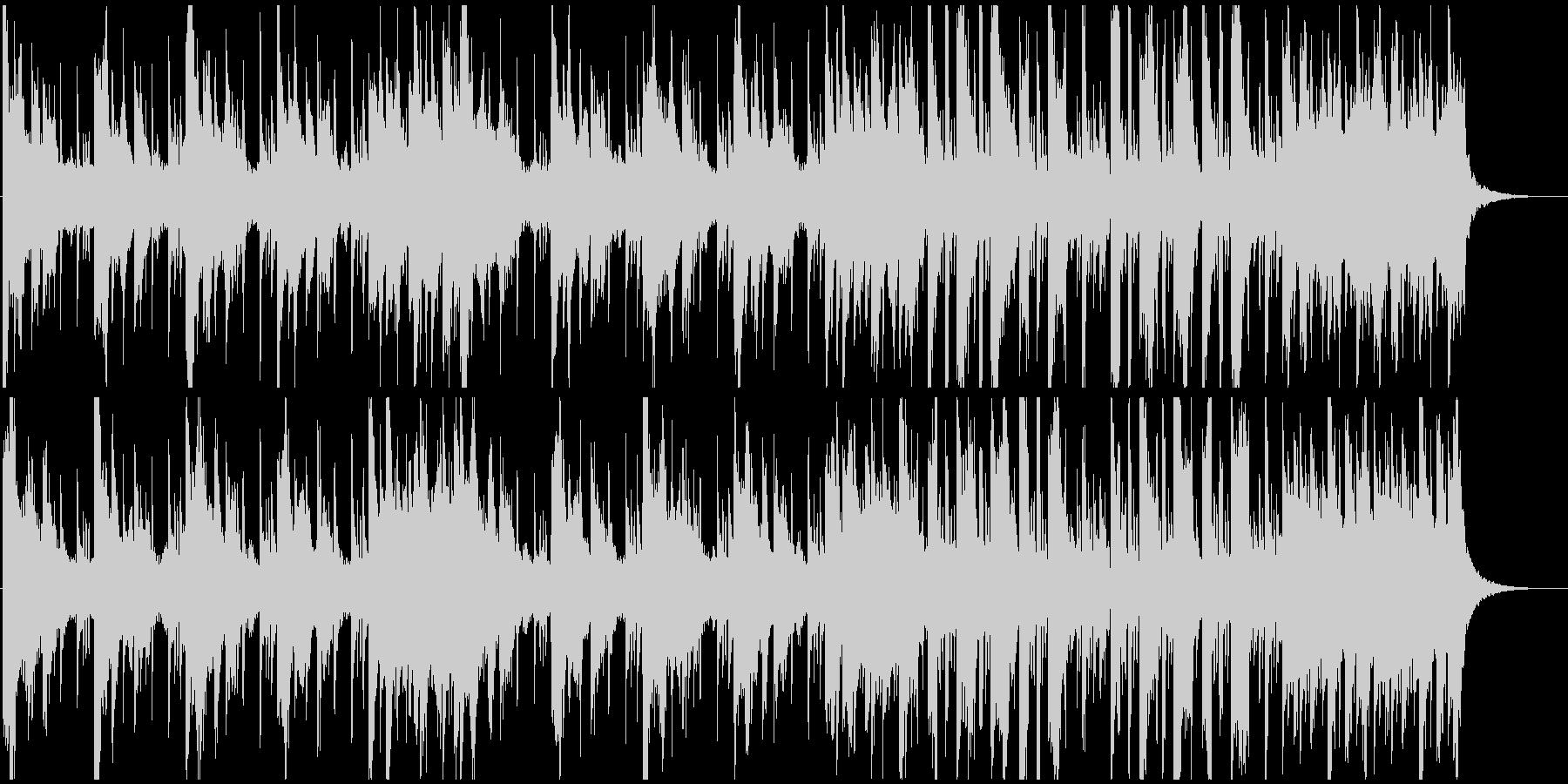 クラブ音楽風ドラムンベースリフ。の未再生の波形