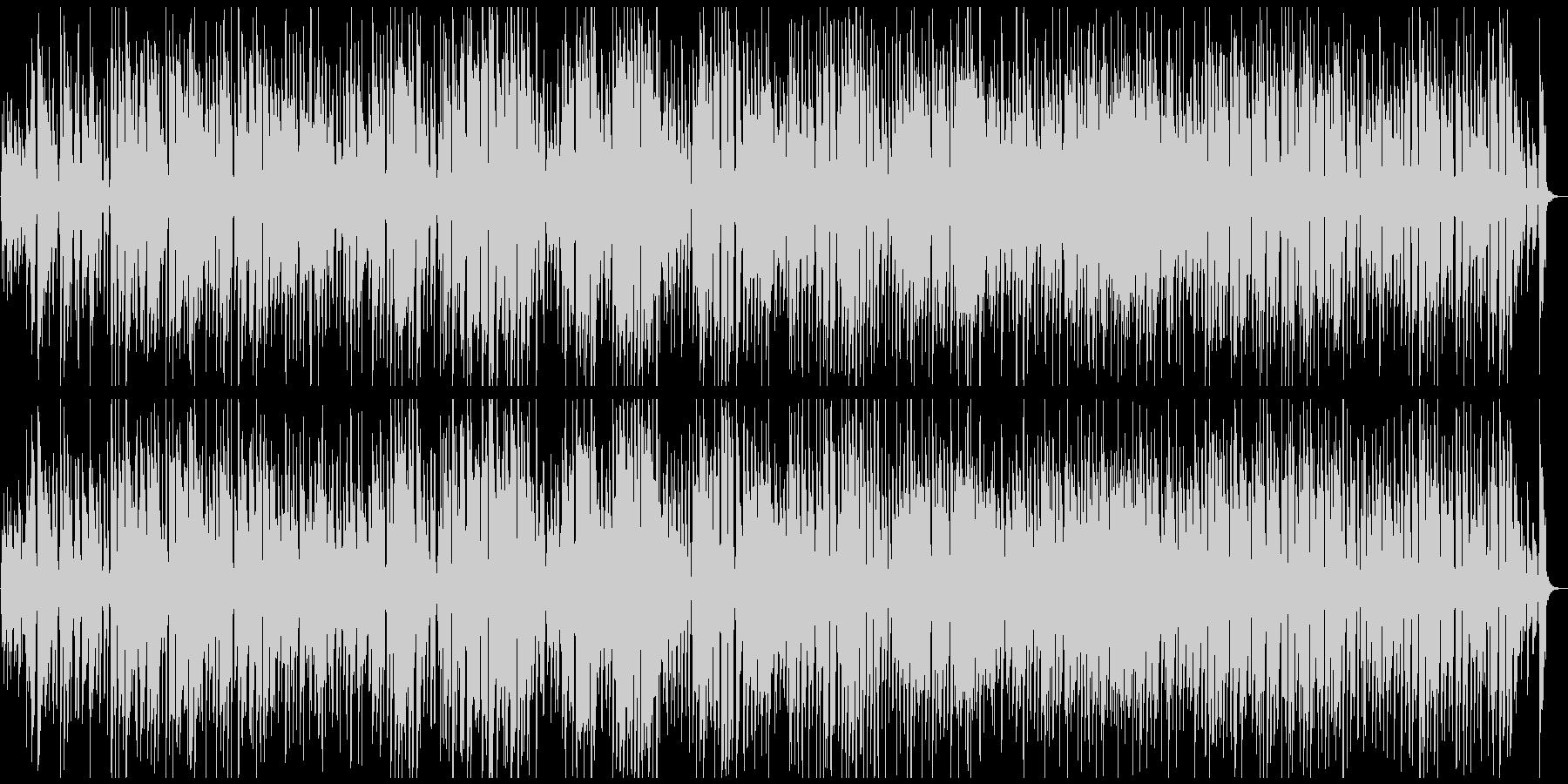 のほほんハッピーなレトロ系ジプシージャズの未再生の波形