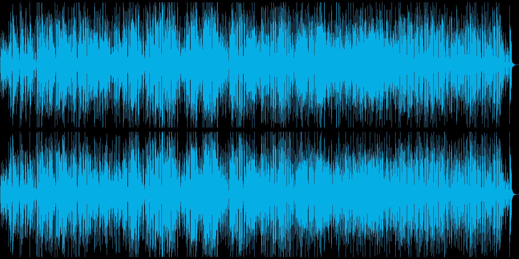 のほほんハッピーなレトロ系ジプシージャズの再生済みの波形