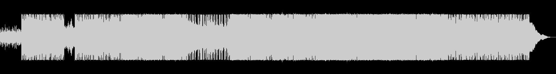 電気楽器。風変わりなロボット配信。...の未再生の波形