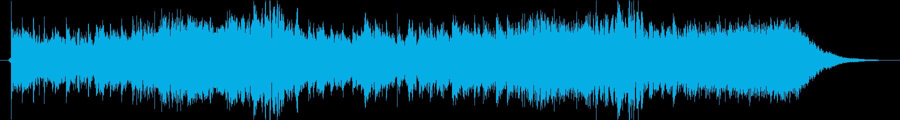 ハロウィンをイメージした怖かわいいBGMの再生済みの波形