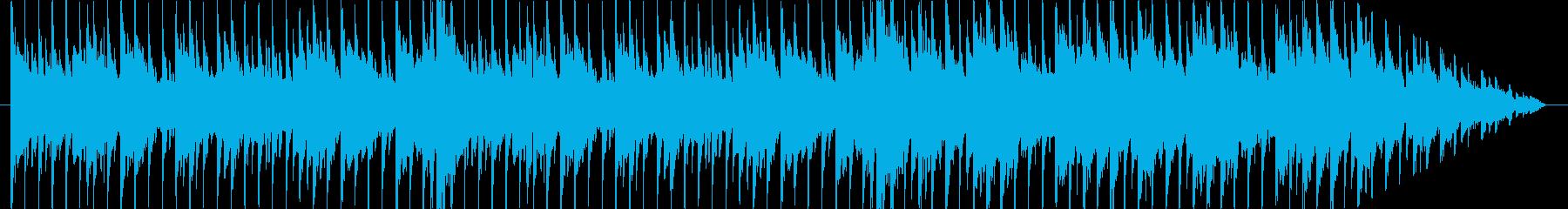 ポップでメロディアスな歌声と静かな...の再生済みの波形