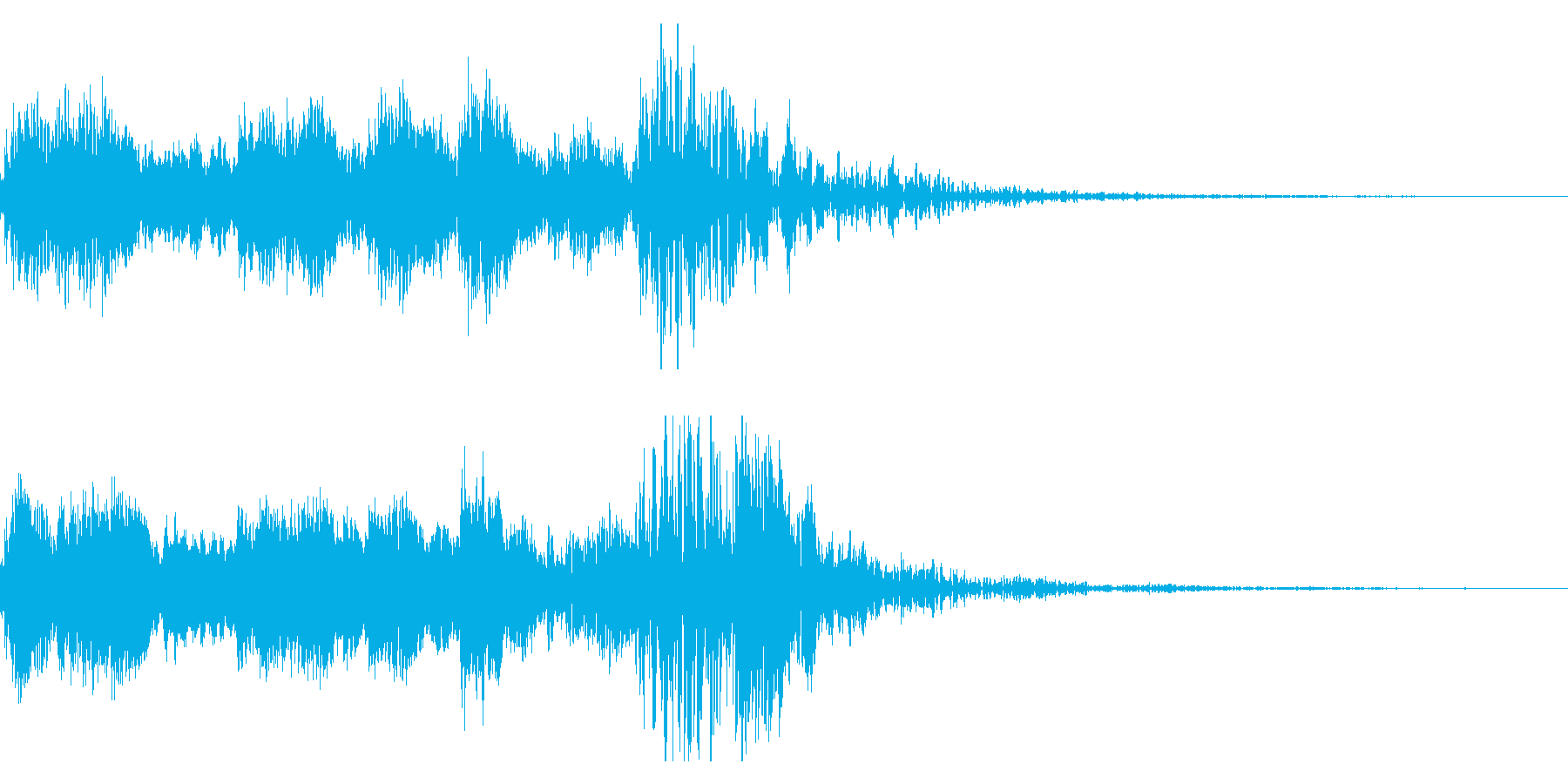 歌舞伎の太鼓/笛/鼓/和風ジングル!12の再生済みの波形