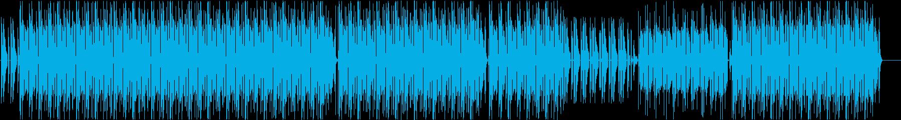 Lofi-style, calm and stylish sound's reproduced waveform