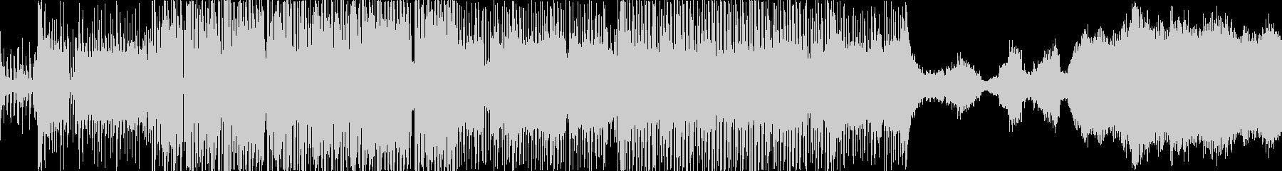 知的でクールな電子曲の未再生の波形