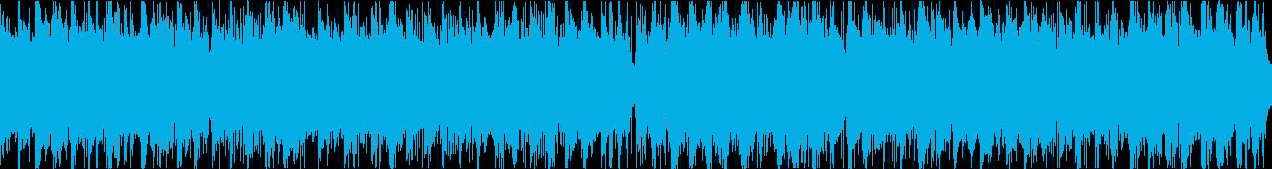世界観のあるゲームに使える奇妙な曲ループの再生済みの波形