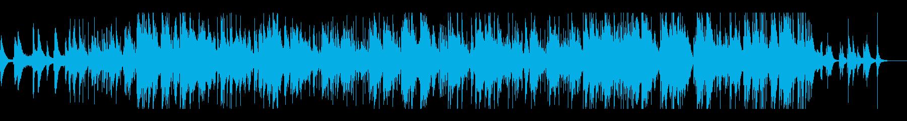 夜景の似合う落ち着いたジャズ系チルアウトの再生済みの波形