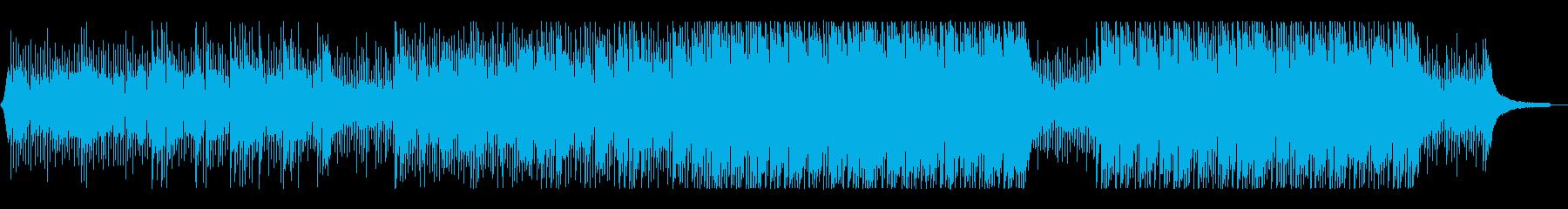 【キック&ベース抜き】未来への意志&疾走の再生済みの波形