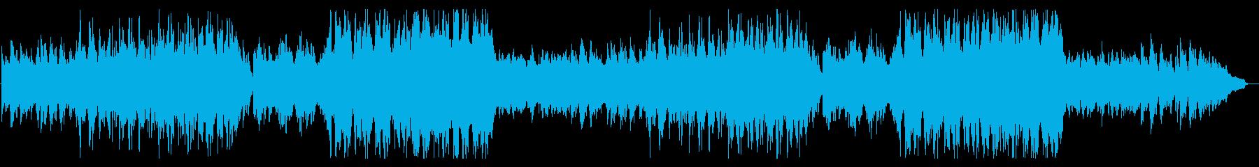 宇宙を感じる、近未来的ヒーリング音楽の再生済みの波形