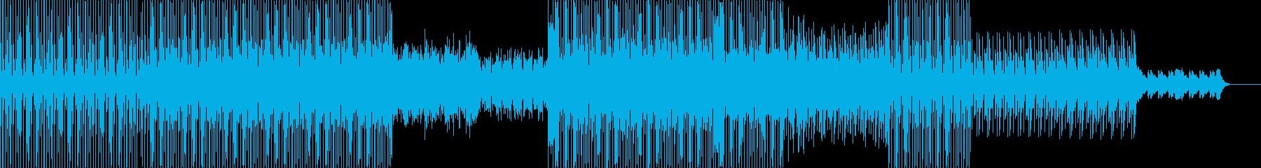 インド風 テクノの再生済みの波形