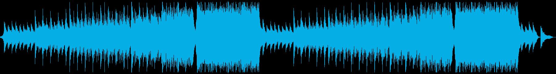 ハリウッド風ダークエナジーx2回の再生済みの波形