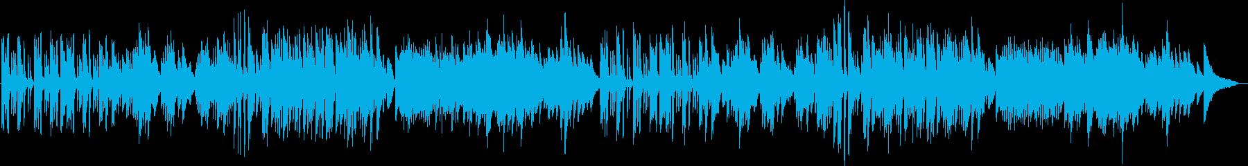 ピアノ生演奏/かわいい・小動物・ほのぼのの再生済みの波形