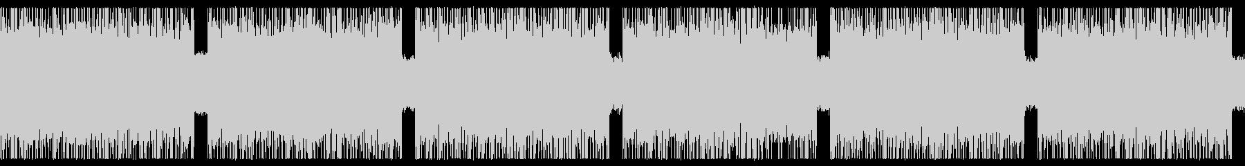 ゲーム映画バトル用攻撃的1-2ループ処理の未再生の波形