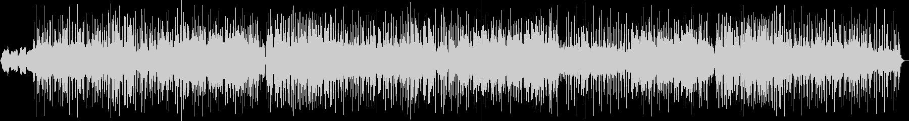 ダークな雰囲気のポップスBGMの未再生の波形