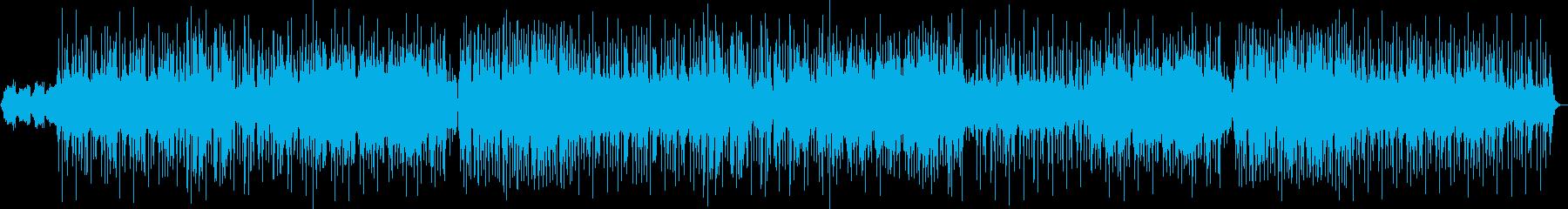 ダークな雰囲気のポップスBGMの再生済みの波形