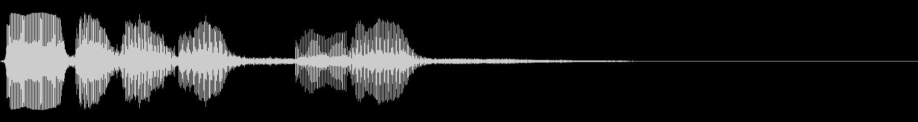 トランペット/ちょっぴり残念な時の未再生の波形