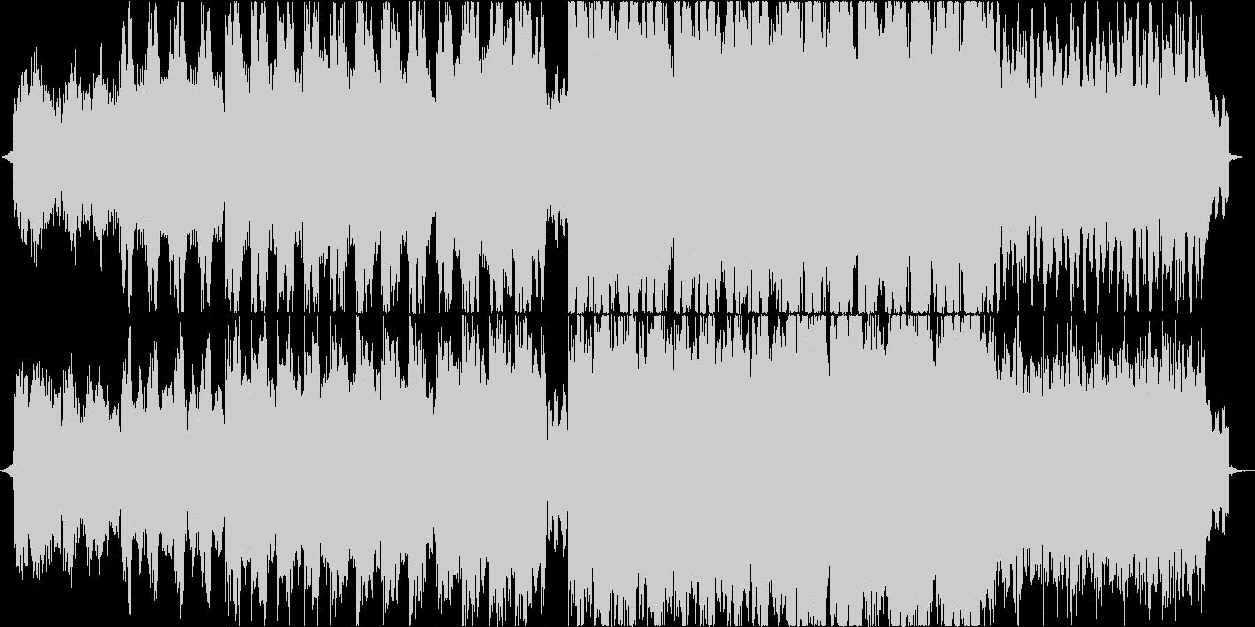 アジアンテイストな楽曲ですの未再生の波形
