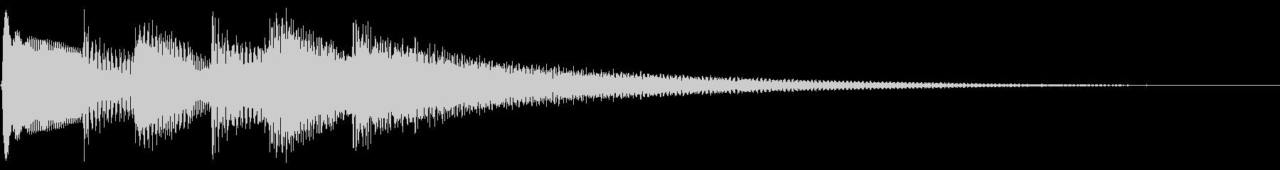のどか アルペジオ ナイロンギターの未再生の波形