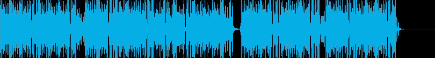 暗めの雰囲気の和風Trapの再生済みの波形