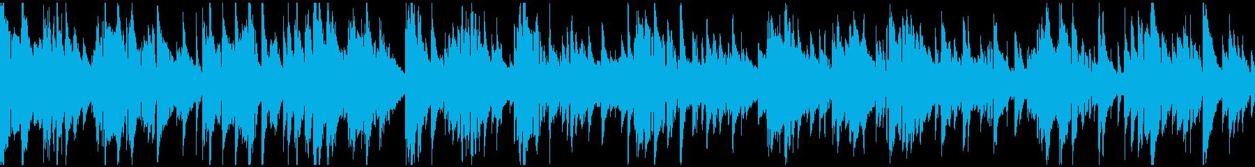 セクシーでエロい音色のサックス※ループ版の再生済みの波形