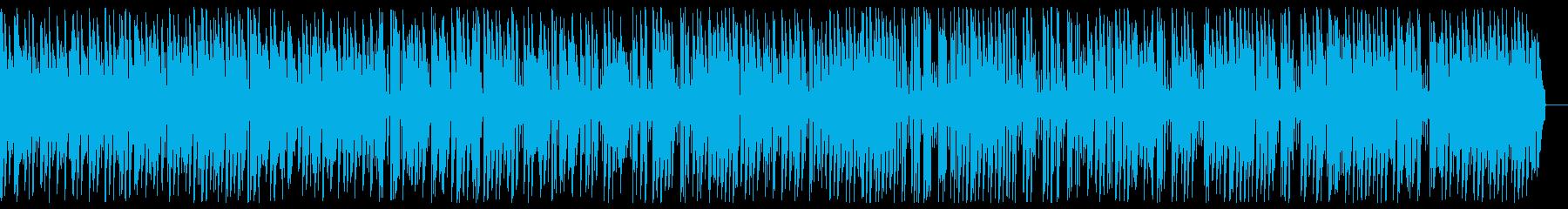 優雅で明るいお洒落 ジャズピアノBGMの再生済みの波形