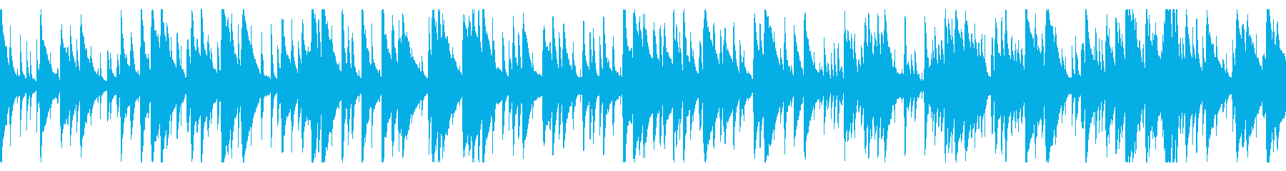 お洒落なジャズピアノトリオ20 ループの再生済みの波形