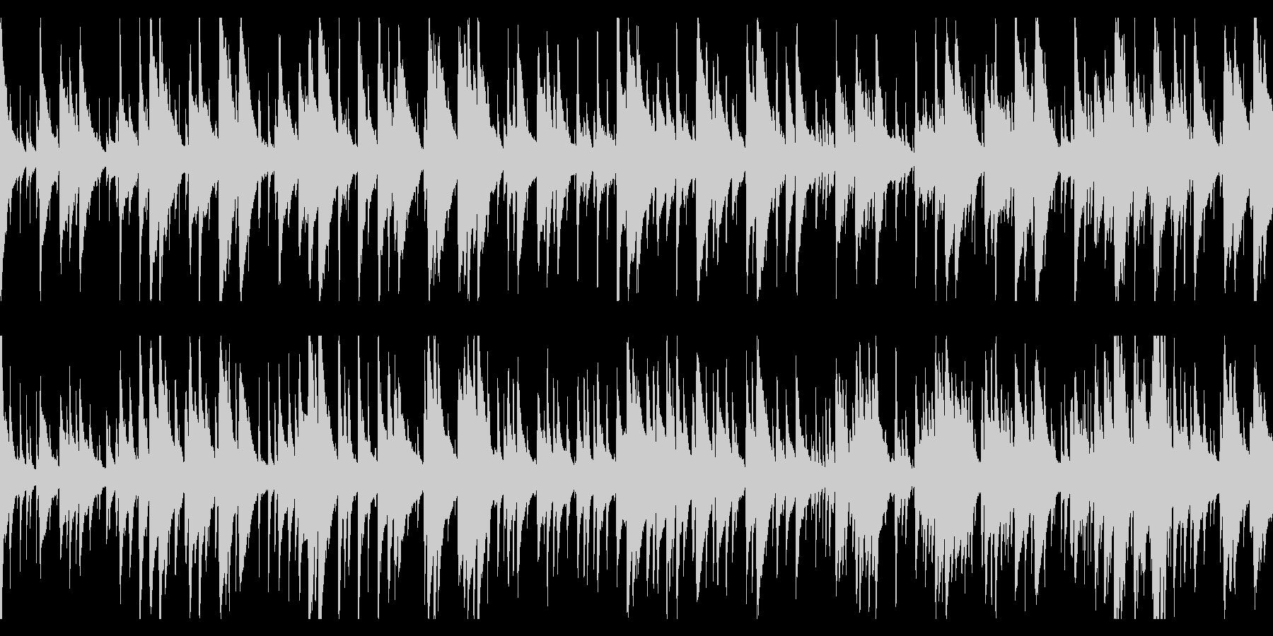 お洒落なジャズピアノトリオ20 ループの未再生の波形