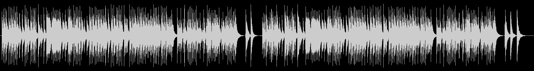 回想シーンに最適な和風テイストの曲の未再生の波形