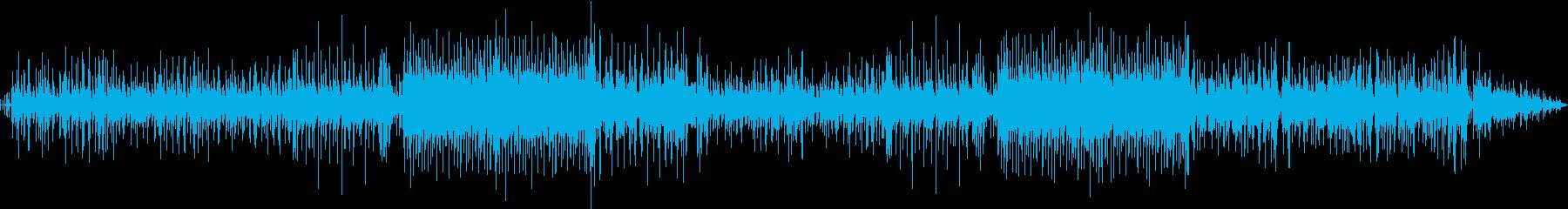 温かい気持ちになるスローポップスの再生済みの波形
