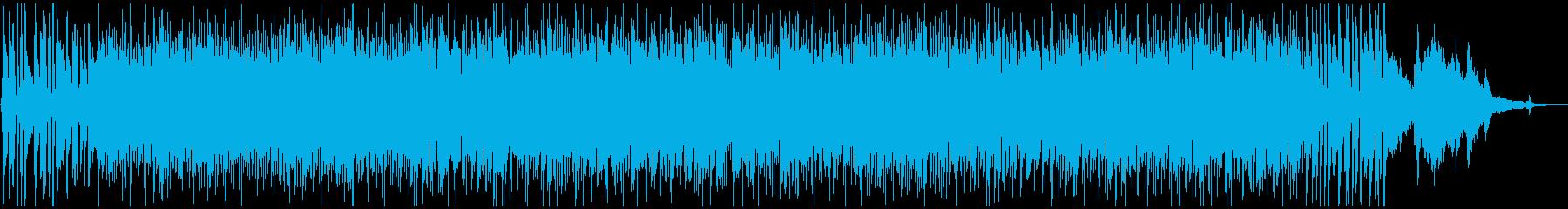 ピアノお洒落で軽快でエレガントなボサノバの再生済みの波形