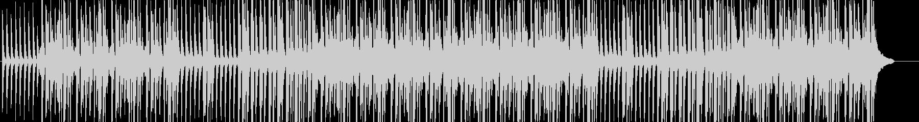 ほのぼの雰囲気のリコーダー三重奏の未再生の波形