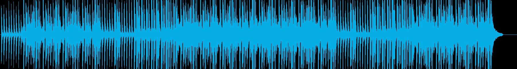 ほのぼの雰囲気のリコーダー三重奏の再生済みの波形