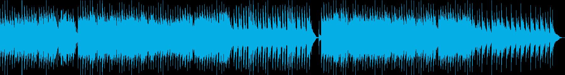 ドラマチックなピアノオーケストラ風BGMの再生済みの波形