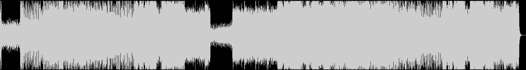 オーケストラによる戦闘BGMの未再生の波形