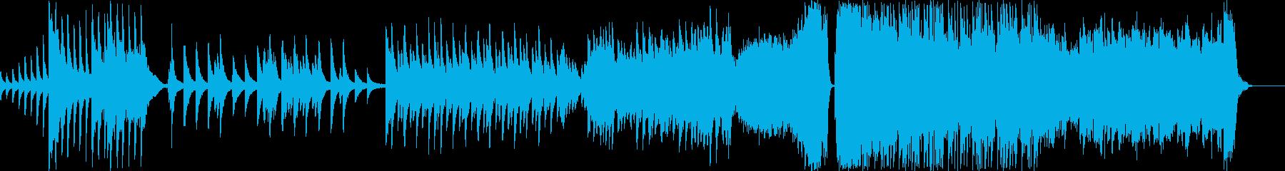 ピアノが中心の昔に思いを馳せるバラードの再生済みの波形