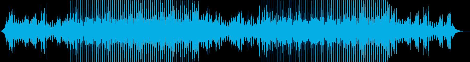 わくわく楽しいYouTubeエンディングの再生済みの波形