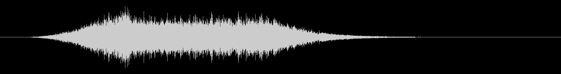 シュルルル 飛ぶ ビーム シューティングの未再生の波形