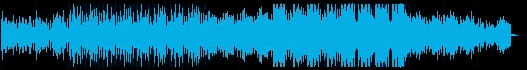 エレクトロニカ/綺麗/不思議/三拍子の再生済みの波形