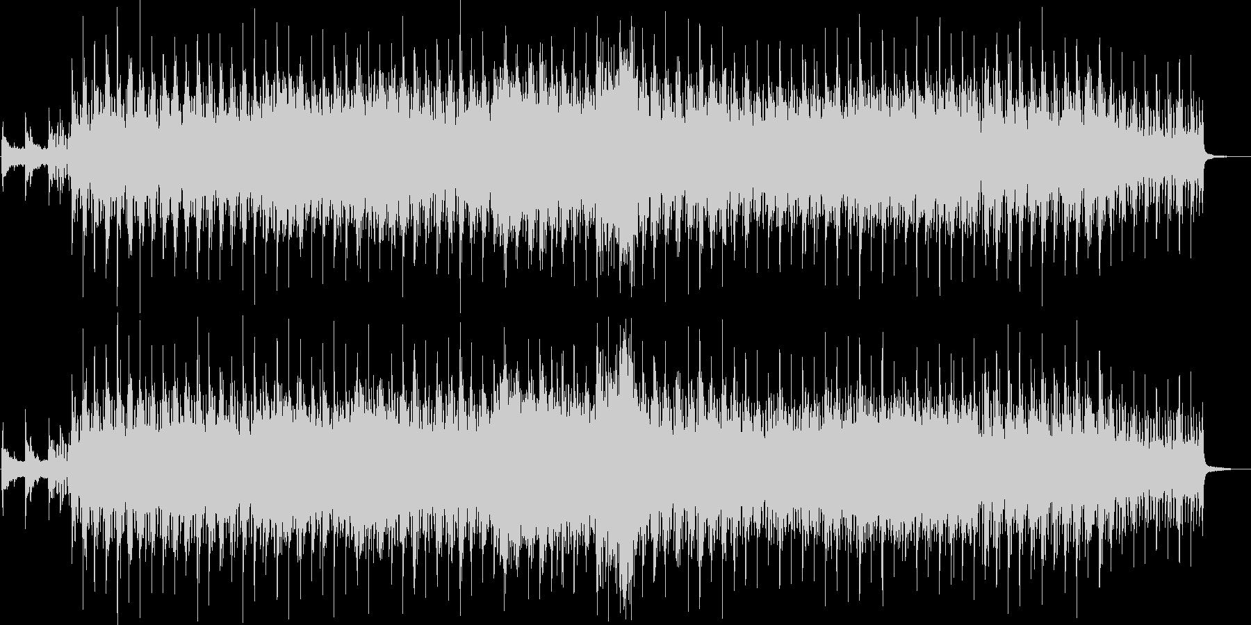 アコギと幻想的なハミングが特徴のバラードの未再生の波形