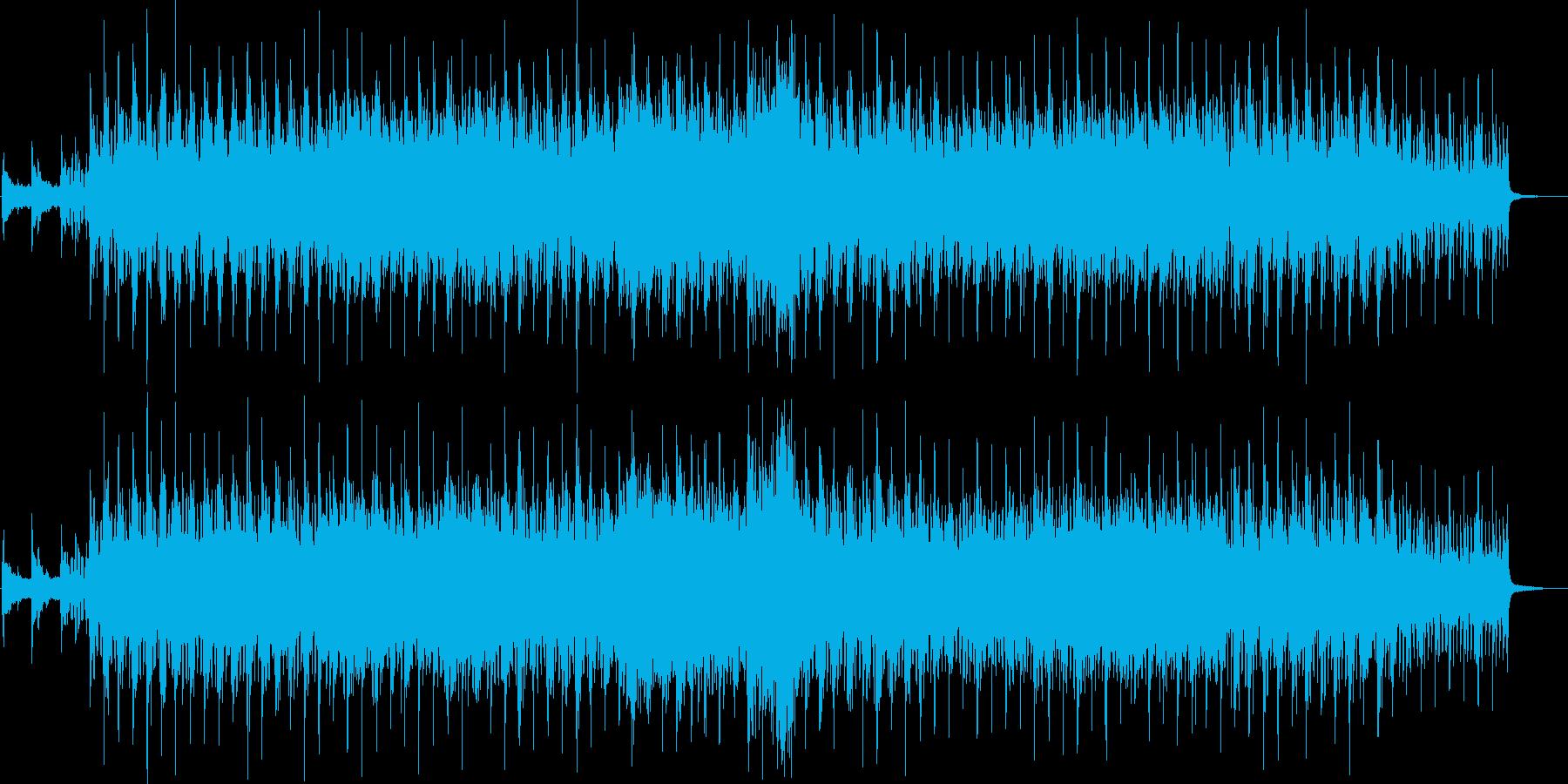 アコギと幻想的なハミングが特徴のバラードの再生済みの波形