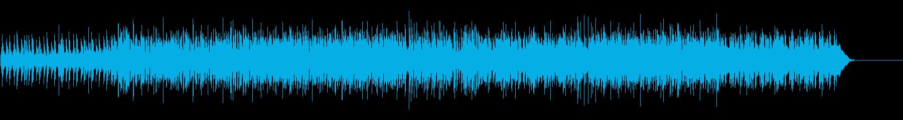 スタイリッシュなマイナー・ハウス/テクノの再生済みの波形