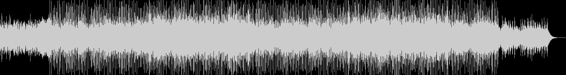 ポップなシンセアンサンブルの未再生の波形