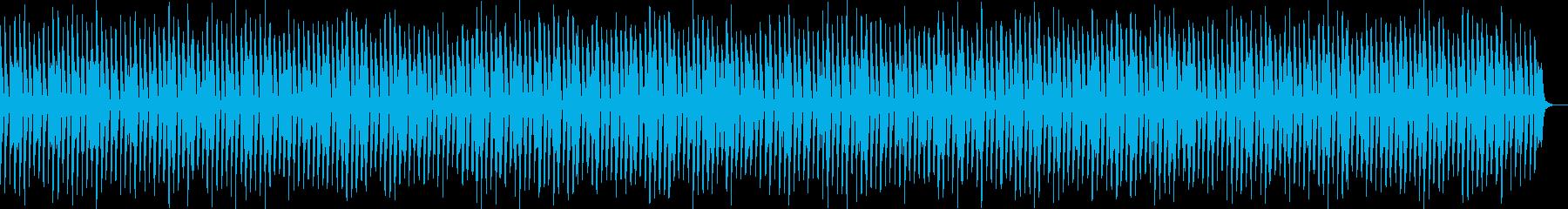 スキップ・明るい・日常・ポップの再生済みの波形