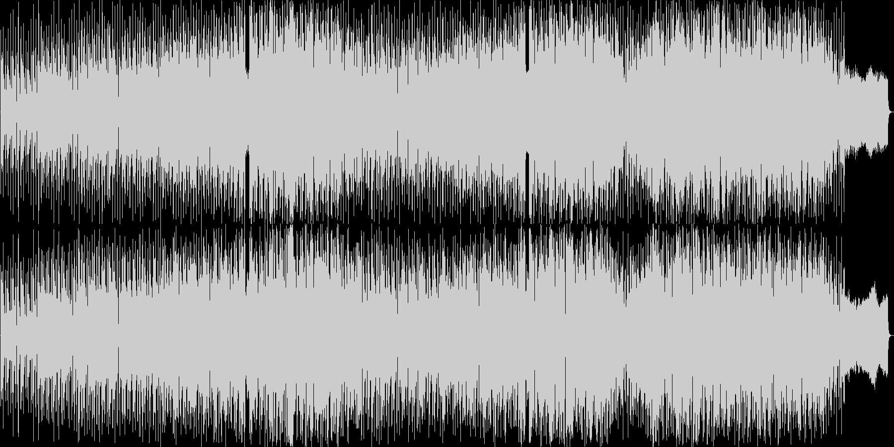 明るい雰囲気のシャッフルダンスポップの未再生の波形