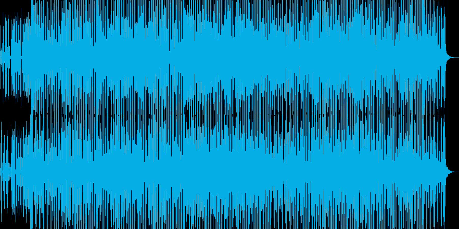 90年代の雰囲気のEDMの再生済みの波形