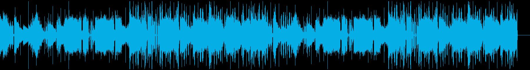 チルなシーンに使えるオシャレなBGMの再生済みの波形