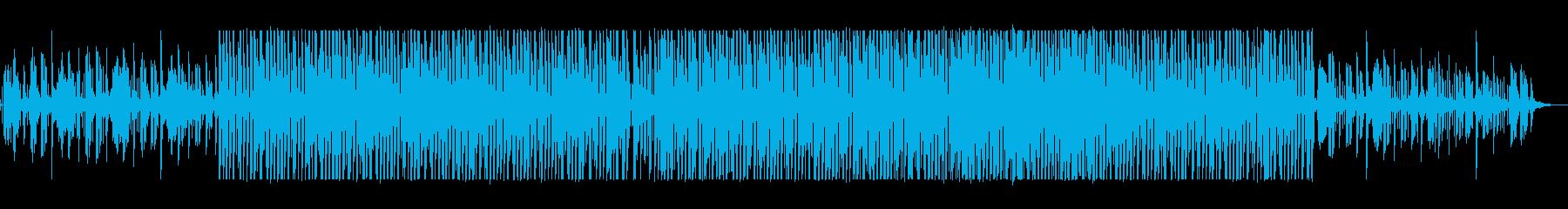 疾走感とおしゃれなシンセテクノサウンドの再生済みの波形