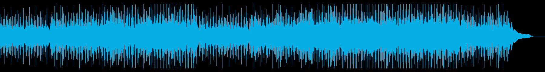 企業VP・穏やかなフォーク・静かな感動の再生済みの波形