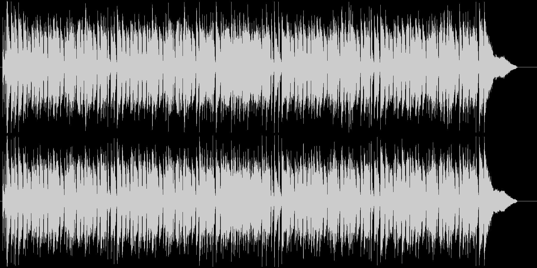ピアノ伴奏をメインにしたジャズ風BGMの未再生の波形