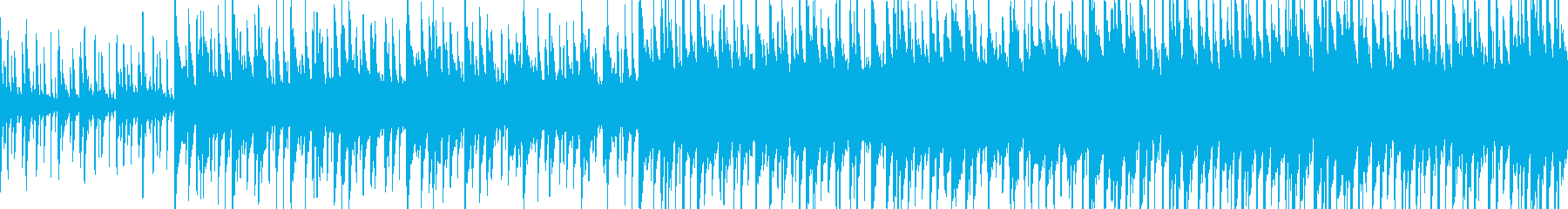 ウッドベースが印象的な楽しいセッション曲の再生済みの波形